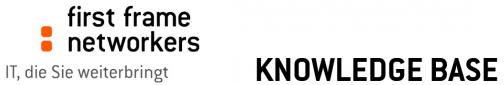 first frame Knowledgebase